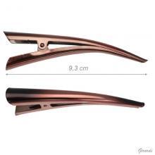 Fermacapelli Becco Metallo 9 Cm Demy/nero
