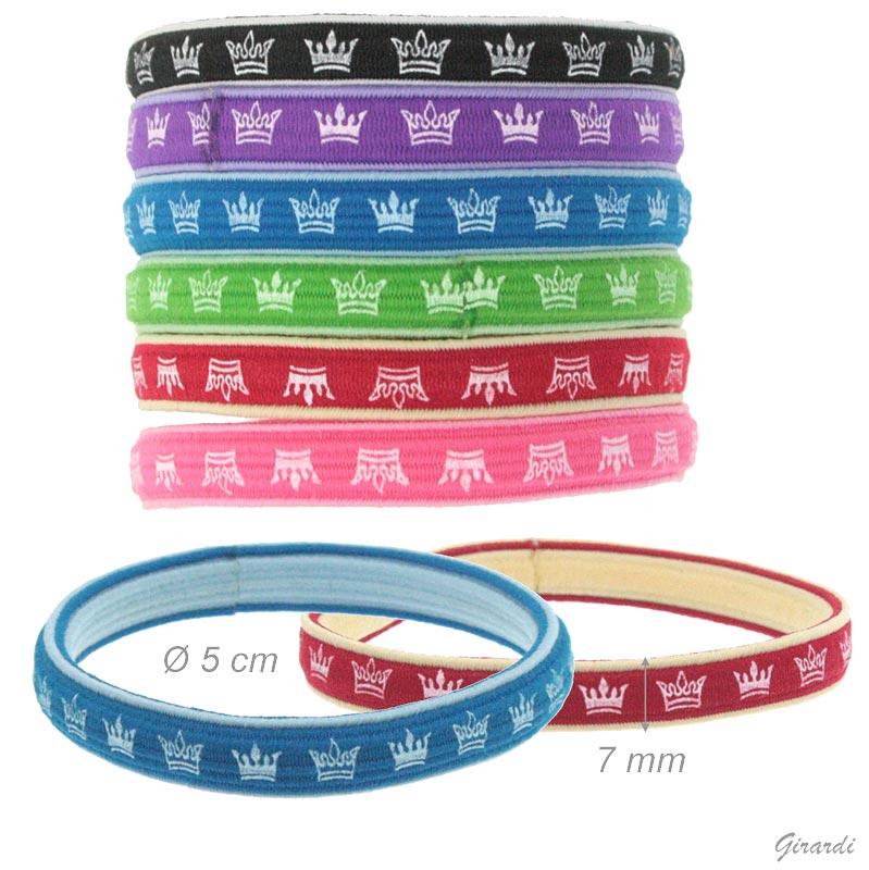 Elastico braccialetto con diadema