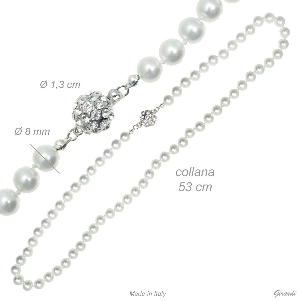 Pearl Necklace 8mm
