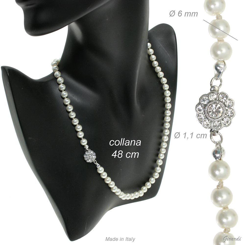 Pearl Necklace 48 Cm