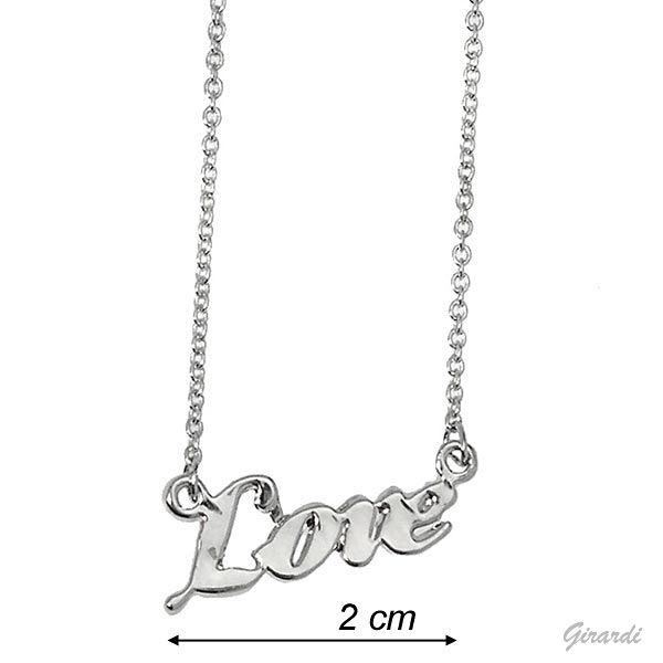 Collana Pendente Love