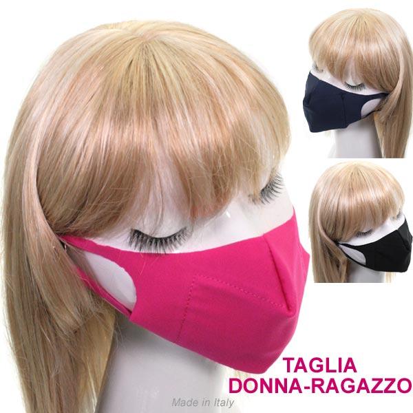 Mascherina X Donna-ragazzo In Tessuto Lavabile