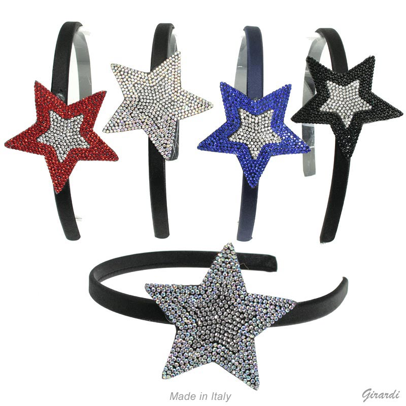 Assorted Strass Star Headband