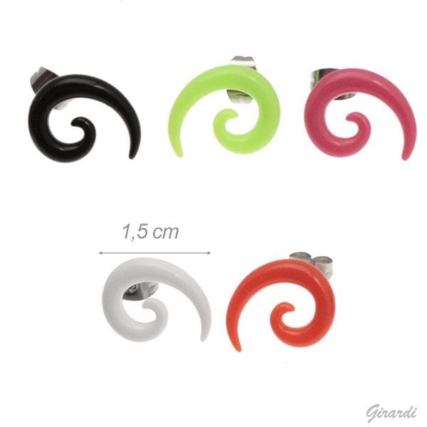 Orecchini Di Bigiotteria A Spirale
