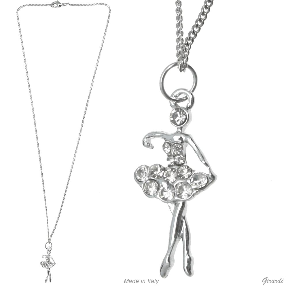 Necklace Ballerina With Strass