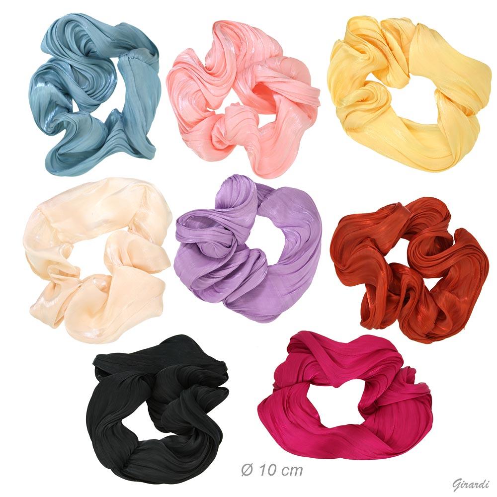 Solid Color Fabric Scrunchie 10cm