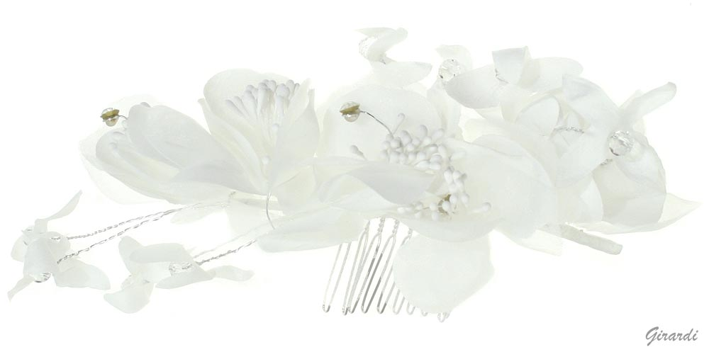 Hair Comb With Flowers