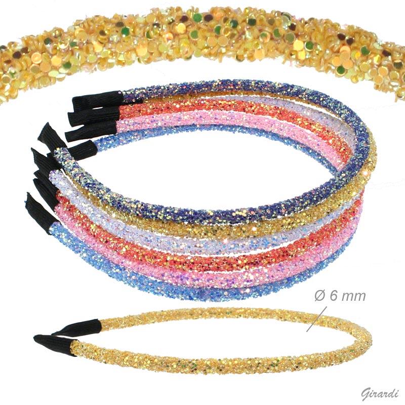 Summer Colors Glitter Headband