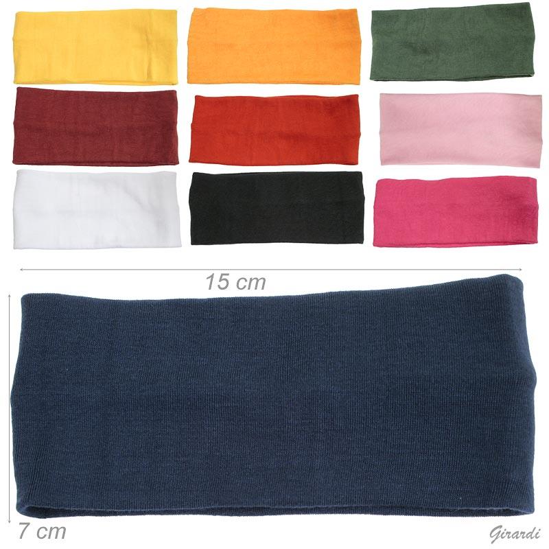 Fascia Per Capelli Colorata 7cm