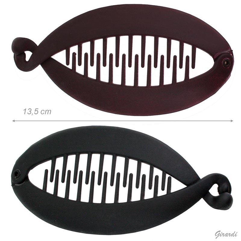 Fermacoda A Spina Di Pesce Opaca 13,5 Cm