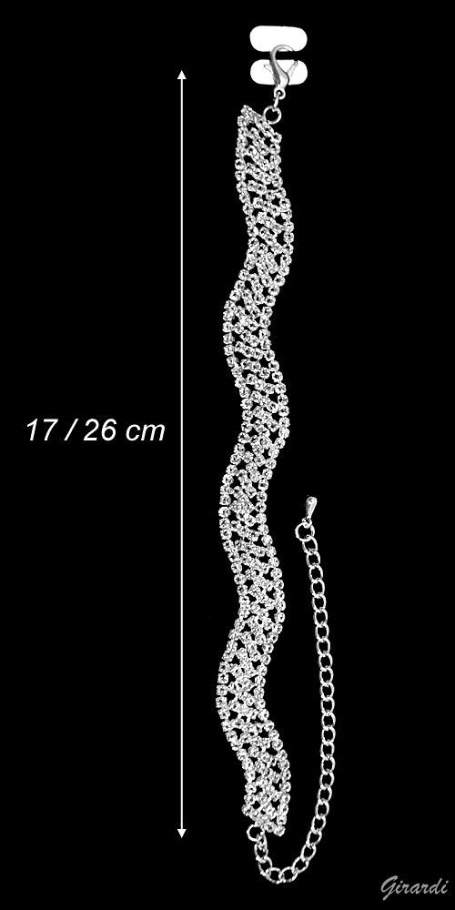 Bracciale Metallo Con Zirconi