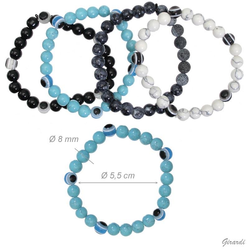 Men's Stone Bracelet