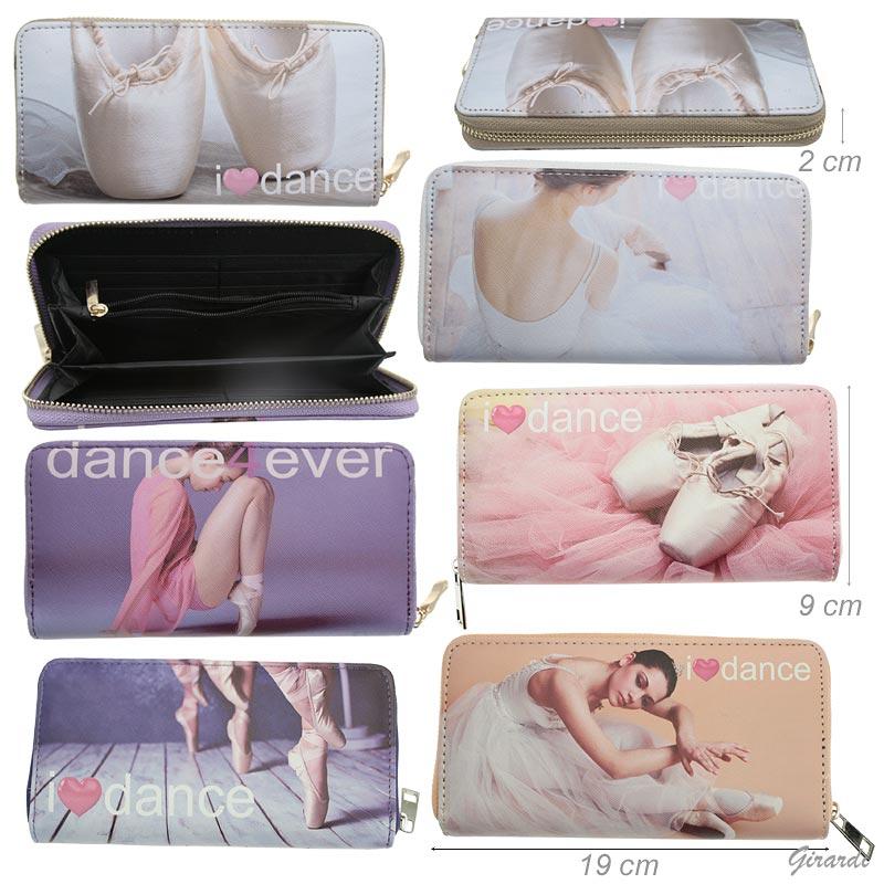 Portafoglio Ballerina 19 X 9 Cm