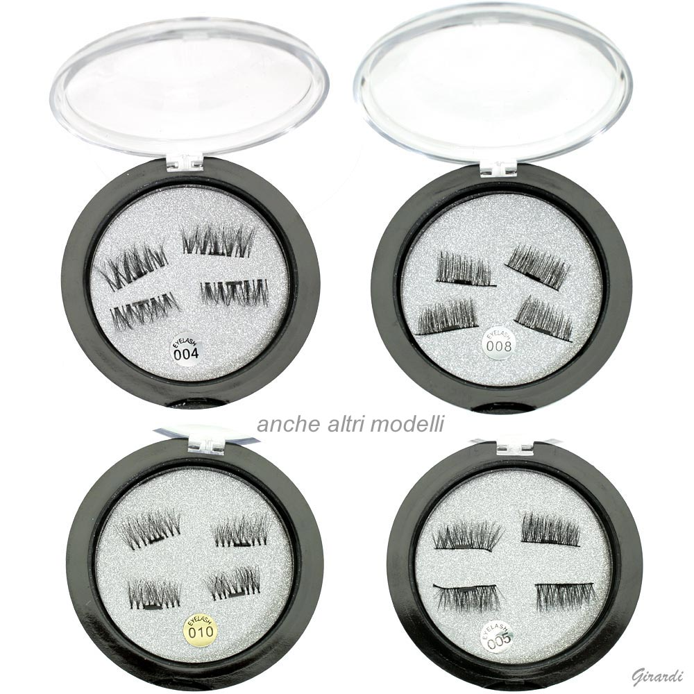 Magnetic Synthetic Lashes - Black