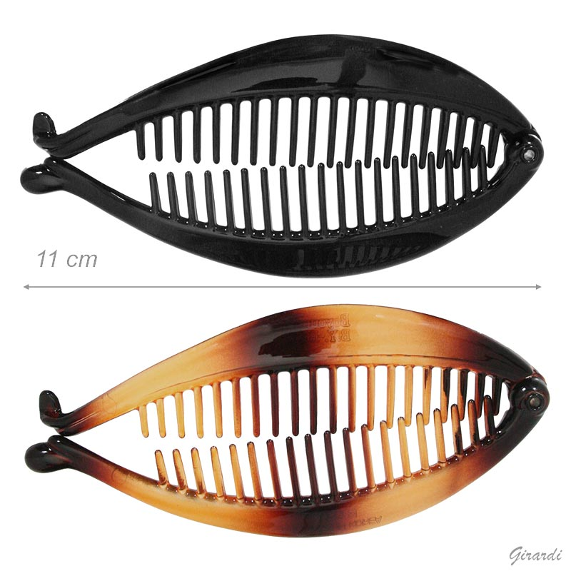 Fermacoda A Pesce Nero E Demy - 11 Cm