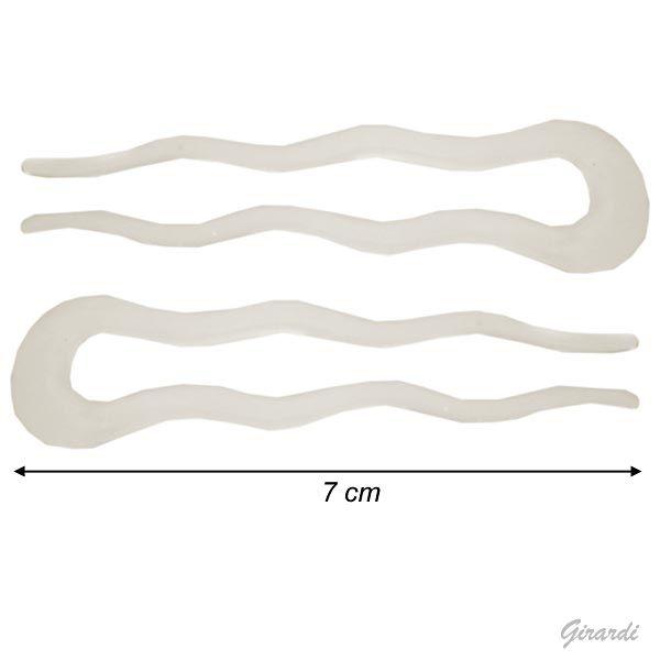 Transparent Hair Pin 7 Cm