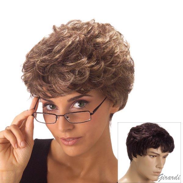 Synthetic Short Unisex Wig - Mod. Bruce