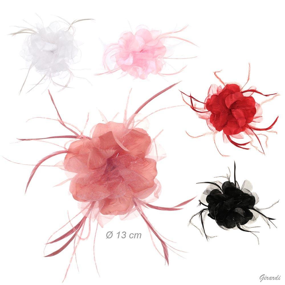 Decorazione Per L'acconciatura Con Fiore In Tulle
