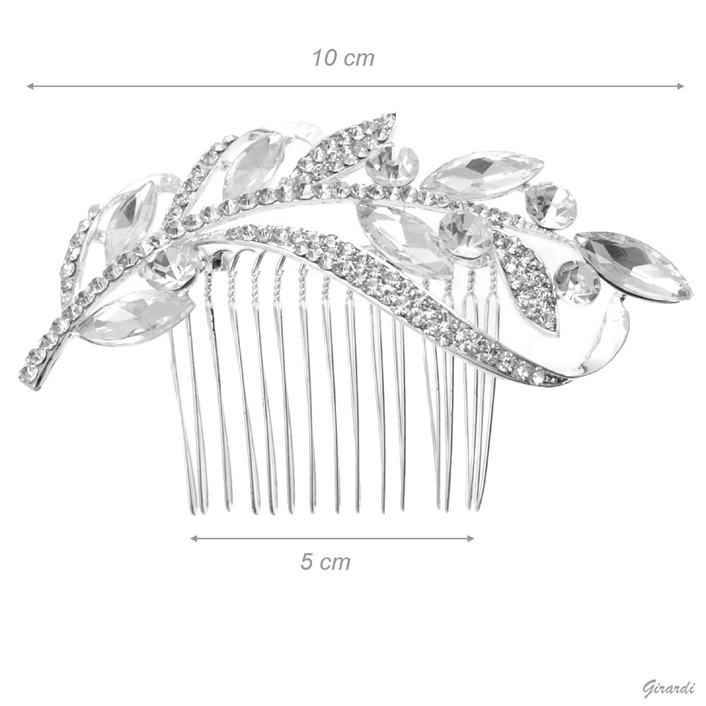 Hair Combs For Bride With Crystals