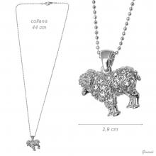 Necklace With Strass Capricorn