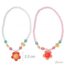 Necklace For Girls With Flower And Strass