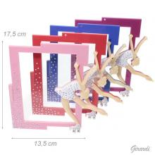 Photo Frame With Skater And Strass