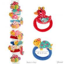 Elastic Bobbles With Small Colored Animals
