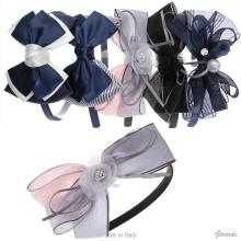 Satin Headband With Bow