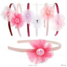 Girl Headband With Ballerina
