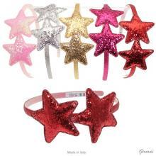 Glitter Double Star Headband