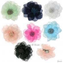 Fiore Da Cerimonia Su Becco /spilla