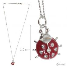 Necklace With Red Ladybird Pendant