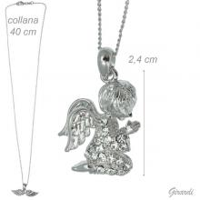 Necklace With Angel In Prayer