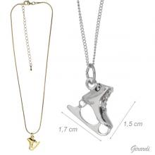 Necklace With Ice Skate