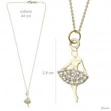 Necklace Balleria With Strass