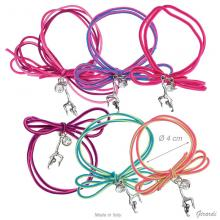 Bracelet Elastic Pendant Freehand Rhythmics