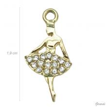 Ballerina Pendant With Strass (net Price)
