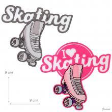Patch Skating Termoadesivi Per Borse O Abiti