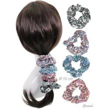 Patterned Fabric Hair Scrunchie