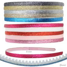 Headband With Glitter 8 Mm