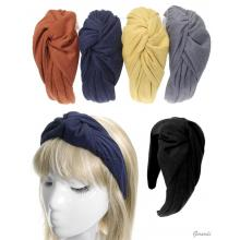 Headband Covered Knotted Fabric