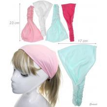 Baby Girl Bandana Headband Solid Colors