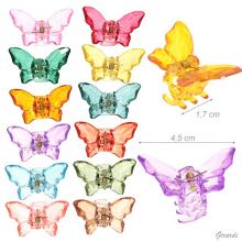 Butterfly Shaped And Colored Hair Claw
