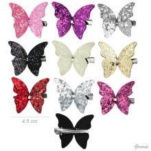 Becco Con Farfalla Glitter Color