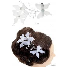 Pinza Becco Con Farfalle E Perle