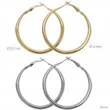 Hoop Earrings 5.2cm X 4mm