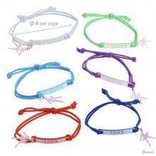 Braccialetti Elastico  Love Hope Happy