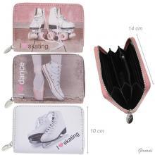 Wallet For Ballet O Ice Skater O Roller Skater