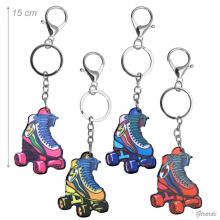 Key Ring With Roller Skate