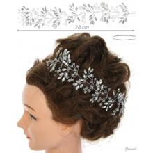 Metal And Crystal Hair Decoration